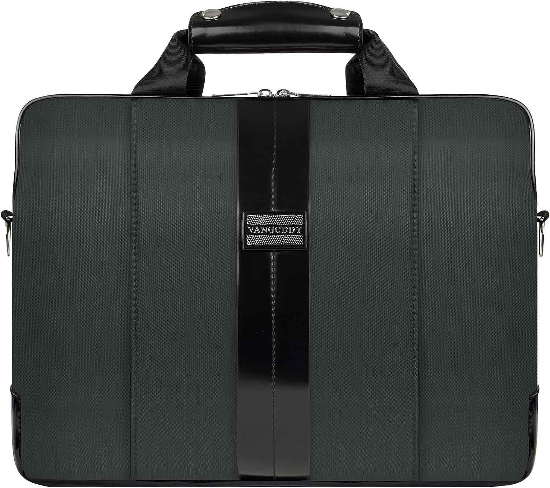 VanGoddy Modern Gray Messenger Bag for Alienware 15 Gaming Laptop