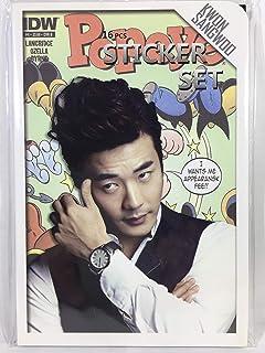 TradePlace クォン サンウ Kwon Sang Woo グッズ / フォト ステッカー シール 16シート(87枚)セット - Photo Sticker 16sheets(87pcs) 韓流 K-POP 韓国製