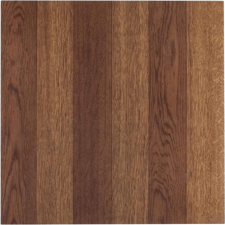 20-Pack Achim Home Furnishings FTVWD22320 Nexus 12-Inch Vinyl Tile Wood Medium Oak Plank-Look Set of 2