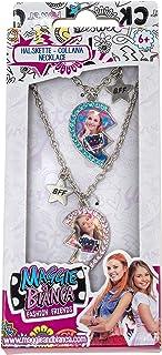Joy Toy 66921Maggie y Bianca Best Friends Juego: 2cadenas en metal con brillantes en paquete de regalo 7X 2X 16,5Cm
