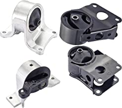 Engine Motor and Trans Mount Set of 4 for 2002-2006 Nissan Altima 2.5L Compatible with Auto Trans