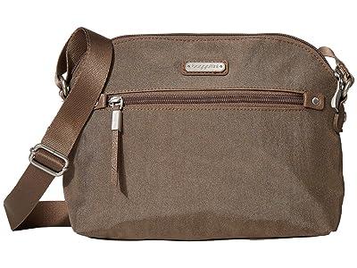 Baggallini New Classic Dome Crossbody (Portobello Shimmer) Handbags