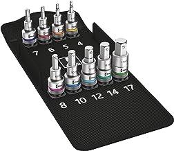 """Wera 8740 C HF 1 Zyklop In-Hex-Plus funkcja trzymania zestaw bitów gniazd, napęd 1/2"""", 9 szt. , 05004201001"""