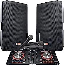 dj speaker system with subwoofer