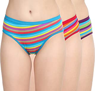 Womens Undergarments  Womens Underwears Girls Panty Cotton Panty for Ladies  Women's Cotton Hipster  MID Waist Hipster Organic Cotton Panty for Regular WEAR Pack of 3 Panty