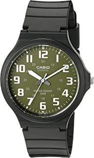 Casio Men's 'Easy To Read' Quartz Black Casual Watch...
