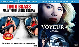 Tinto Brass Collection - Maestro 4-Movie Set (Monamour, Black Angel, Cheeky & Private) & The Voyeur (Uncensored Director's Cut) 5-Blu-ray Bundle