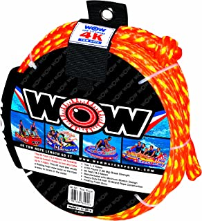 Wow World of Watersports, Tow Ropes, Floating Foam Buoys, Minimum Stretch