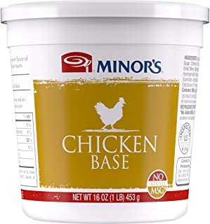 Minor's Chicken Base and Stock, Great for Soups and Sauces, 0 Grams Trans Fat, Poultry Flavor, 16 oz