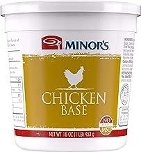 Minor's Chicken Base, Instant Chicken Stock, Bouillon, No Added MSG, Zero Trans Fat, Poultry Flavor, 16 oz