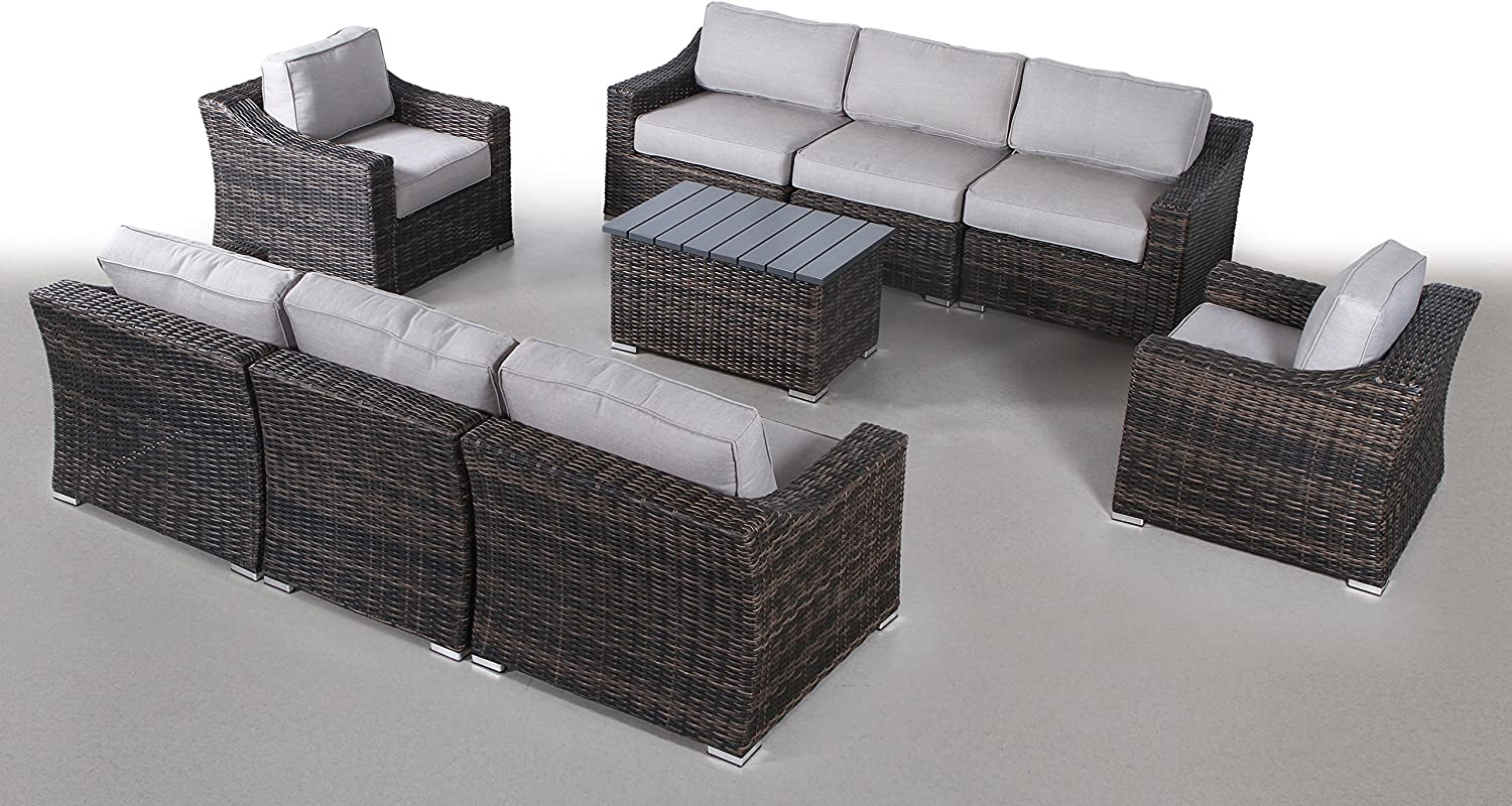 Century Some reservation Modern Outdoor Marina Collection Furniture Patio Ga Max 86% OFF Sofa