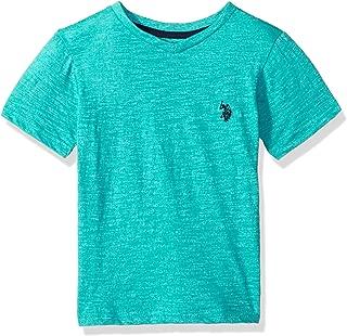 Boys' Short Sleeve Solid V-Neck T-Shirt
