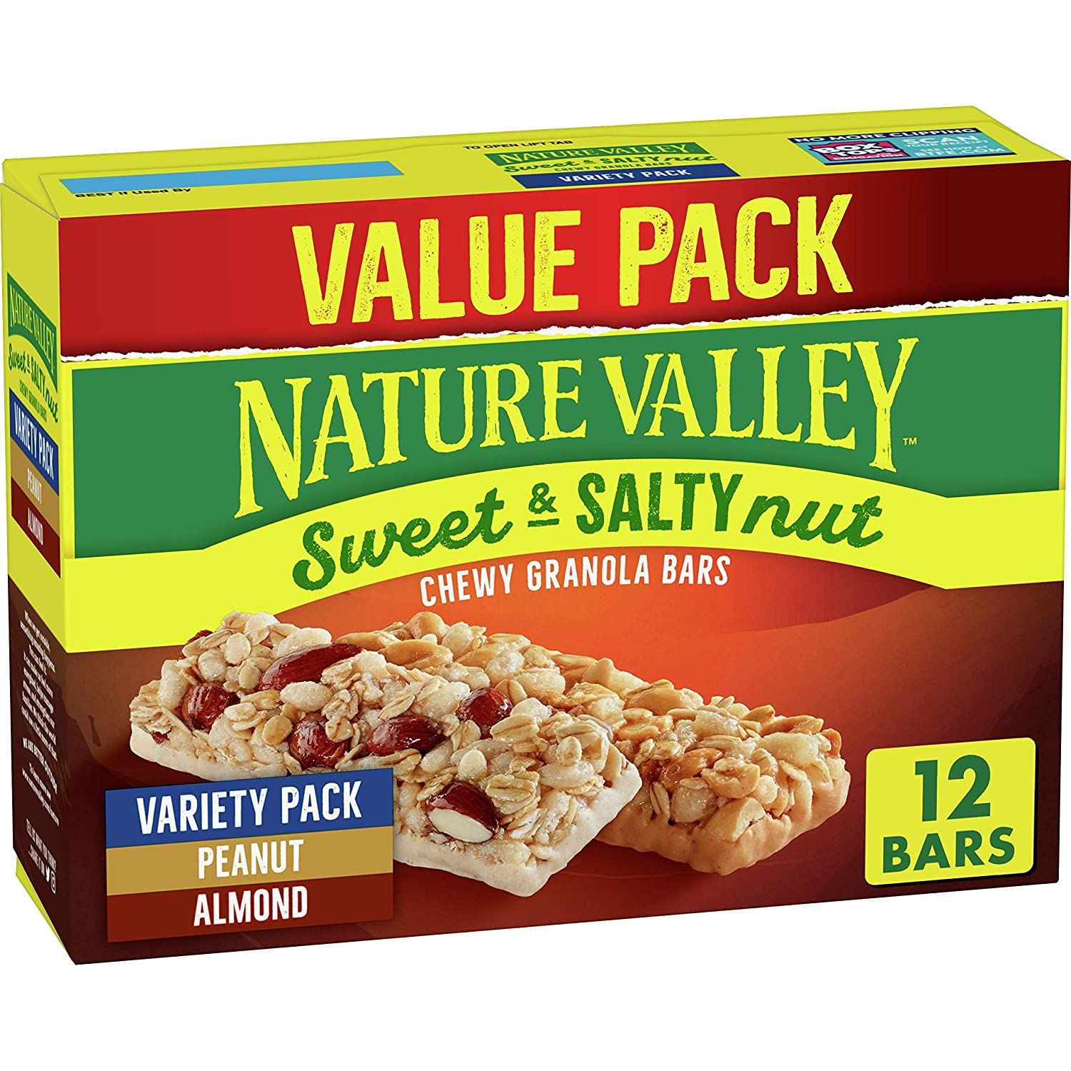 Nature Credence Valley Granola Bars Genuine Free Shipping Sweet Almond and Salty Peanut Nut