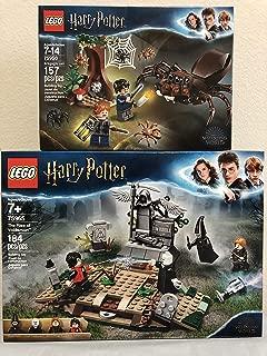LEGO Harry Potter The Rise of Voldemort Bundled Harry Potter Aragog's Lair