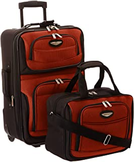 961fd36475e1 Traveler s Choice Travel Select Amsterdam Two-Piece Carry-On Luggage Set