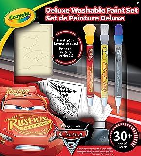 CRAYOLA - 54-0159-E-000 - Kit De Peinture Deluxe Cars 3
