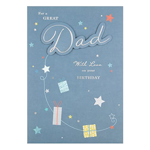 Hallmark 25472663 Dad Birthday Card With Love