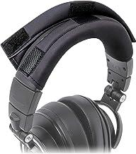 WC BandZ Protective Headphone Headband Cover for Audio Technica ATH M Series Headphones - Machine Washable, No More Flakin...