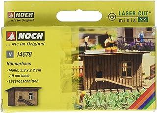 Noch 14678 Chicken Shed N Scale  Model Kit