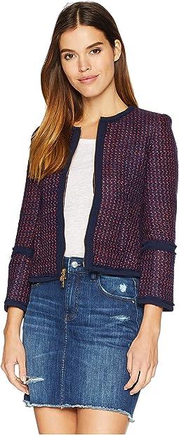 Hard Woven Elodie Tweed Jacket