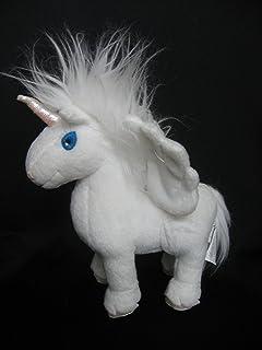 "Neopets White Uni 7"" Plush Unicorn"