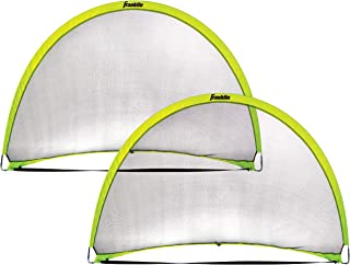 Franklin Sports Pop-Up Dome Shaped Goals - Indoor or Outdoor Soccer Goal - Goal Folds For Storage - 6' x 4' or 4' x 3' Soc...