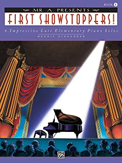 Mr. a Presents First Showstoppers!