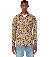 Paul Smith - Long Sleeve Tailored Animal Print Fit-Shirt Pocket