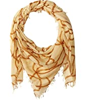 Vintage Chain Print Scarf