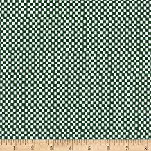Cotton + Steel Rifle Paper Co Amalfi Checkers Hunter Fabric by The Yard