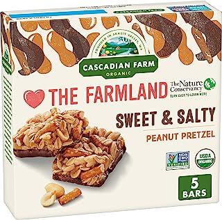 Cascadian Farm Organic Sweet & Salty Peanut Pretzel Chewy Granola Bars 6.2 oz
