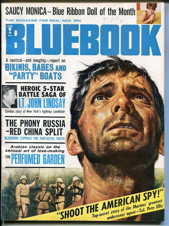 Bluebook 11 1965-cheesecake-red China Russia spy-FN Ranking TOP20 Elegant split-WWII