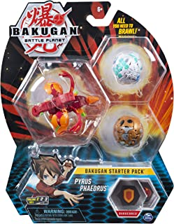BAKUGAN Starter Pack Set Assortment (Styles may Vary-One Sup