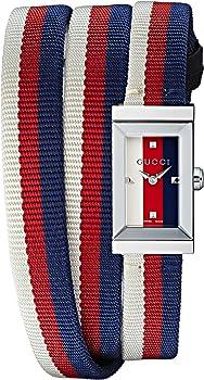 Gucci YA147502 G-Frame Multicolored Dial Ladies Watch