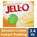 Jell-O Instant Pudding And Pie Filling - Banana Cream - 3.4 Ounces