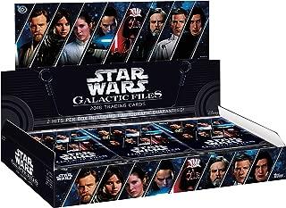2018 Topps Star Wars Galactic Files - Hobby Box