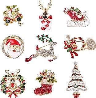 Vcufflinks Father Christmas Santa Claus Head Xmas Festive Secret Birthday Present Brooch Lapel Pin