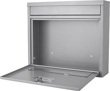Winbest Steel Key Lock Wall Mount Mailbox 3.6 in x 14.2 in x 12.3 in