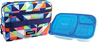 PackIt Freezable Bento Box Set: Freezable Sleeve and Reusable Bento Box Container, Paradise Breeze