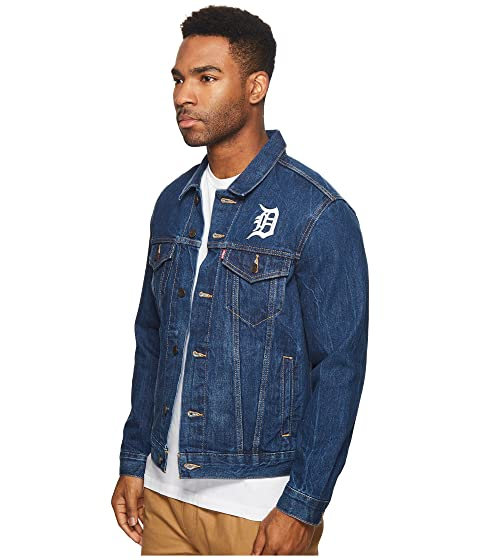 Levi's® Denim Tigers Detroit Mens Trucker wwTSAZfqW