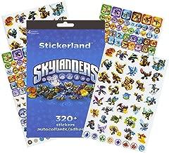 skylanders trap team sticker book