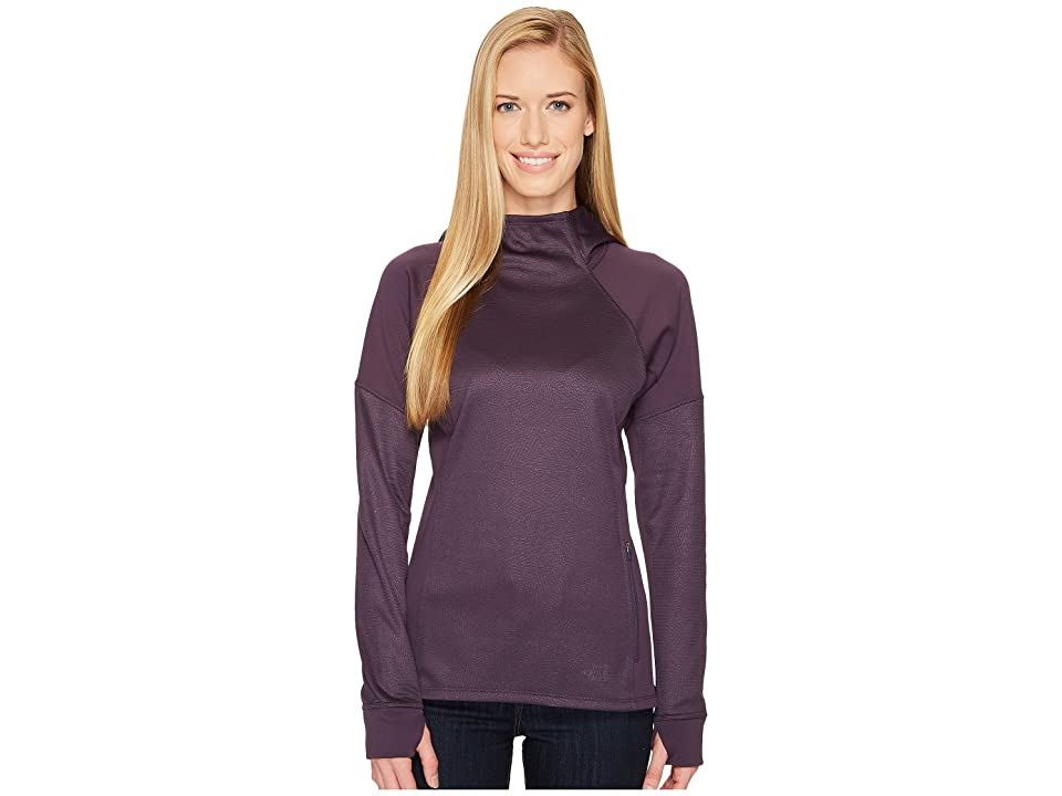 The North Face Versitas Pullover Hoodie (Dark Eggplant Purple) Women