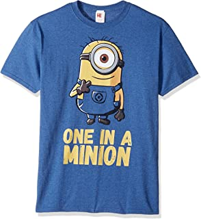 Men's Minions Stuart One in A Million Funny Graphic Tee