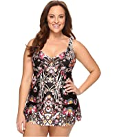 BECCA by Rebecca Virtue - Plus Size Havana One-Piece