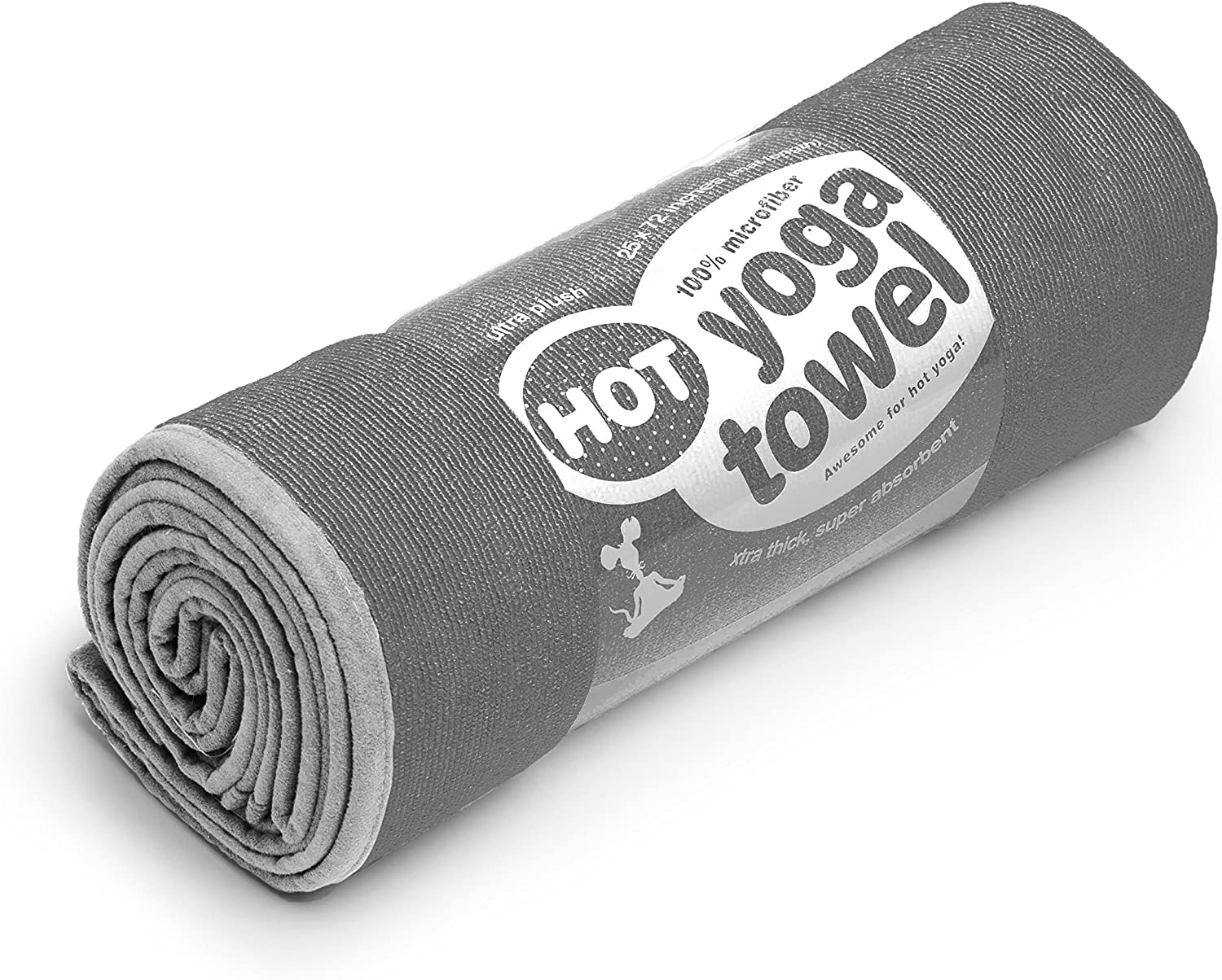 YogaRat HOT YOGA Bombing free shipping TOWEL: 100% durable thick super-absorbent Max 40% OFF mic