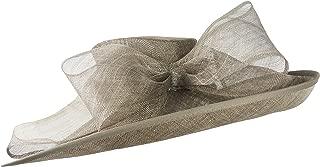 Hats By Cressida Big Beautiful Sinamay Adjustable Bow Ascot Derby Wedding Hat