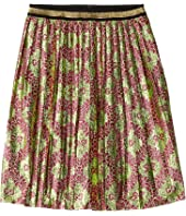 Gucci Kids - GG Bow Lame Jacquard Skirt (Little Kids/Big Kids)