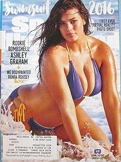 2016 Sports Illustrated Swimsuit Magazine Rhonda Rousey