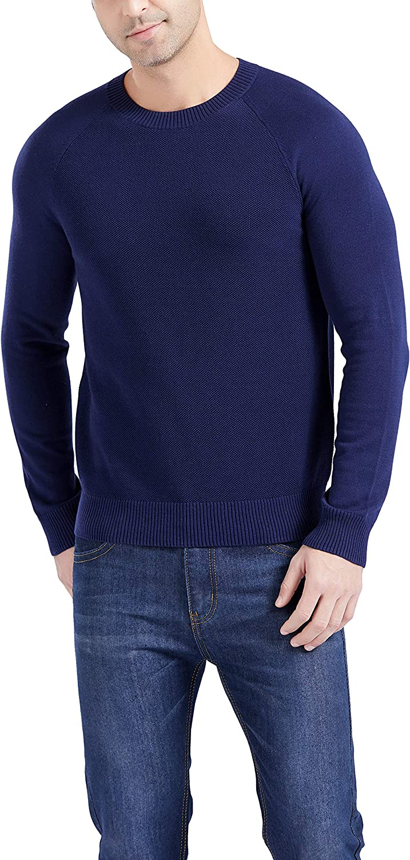 Gilboa Men's Special Campaign 100% Cotton Sweater New life Crewneck Pullover