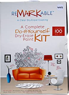 ReMARKable White Whiteboard Paint 100 Square Foot Kit